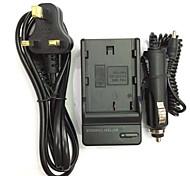 EU/AU/UK Power Cord 8.4V  EN-EL3/EL3E FNP150 Car Charger for Nikon D700 D300 D200 D100 D90 D80 D80S D70 D70S D50