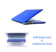 "Crystal Clear Full Body Case and Keyboard Cover Flim for Macbook Air 13.3""  (Assorted Colors)"