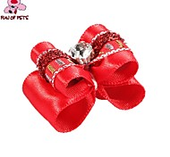 Cat / Dog Hair Accessories / Hair Bow / Clothes/Clothing Red Spring/Fall Wedding / Cosplay