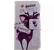 Deer Love About Open Holster Belt Card for iphone5