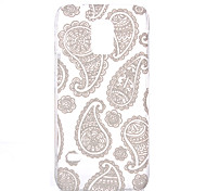 Cashew Flowers Pattern Transparent PC Material Phone Case for Samsung GALAXY S6 /S6 edge/S5/S3Mini/S4Mini/S5Mini