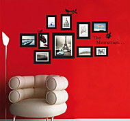 Exquisite Birds Photo Frame PVC Wall Sticker Wall Decals