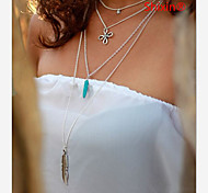 Pendant Necklaces Daily / Casual 1set Jewelry
