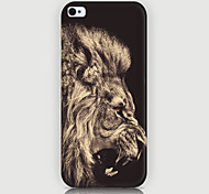 The Lion Pattern Phone Back Case Cover for iPhone5C