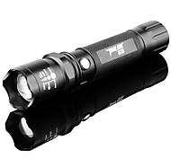 Lanternas LED / Lanternas de Mão (Foco Ajustável / Prova-de-Água / Recarregável / Zoomable) - LED 3 Modo 100 Lumens LED - paraCampismo