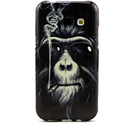 The Monkey Pattern and TPU Following Fashion for Multiple Samsung Galaxy J1/Galaxy J5/Galaxy J7