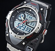 Men's  Sports Watch Multifunctional Dual Time Digital Military Water Resistant for Outdoor Life(Assorted Colors)