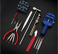 16pc Deluxe einstellen Uhr zurück umkleiden Federstab-Entferner Opener Tool-Kit Reparatur fix Pin-Verbindungs-Remover-Set