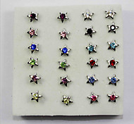 Silicone Earring Stud Earrings Daily/Casual 1set(12pair)