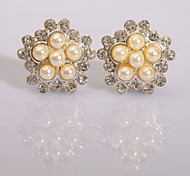 Fashion  New Style Diamond Series 22 Stud Earrings Wedding/Party/Daily/Casual 2pcs