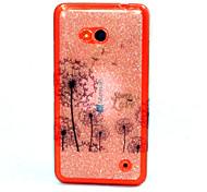 Für Nokia Hülle Muster Hülle Rückseitenabdeckung Hülle Löwenzahn Weich TPU Nokia Nokia Lumia 640