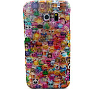 Lovely Face Pattern Glitter TPU Cell Phone Soft Shell For Galaxy S3 /S4 /S5 /S6/ S6 edge /S3Mini /S4 Mini