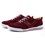 Men's Shoes Outdoor/Office & Career/Casual Suede Fashion Sneakers Blue/Yellow/Red