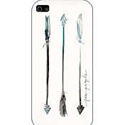 The Arrow Pattern Phone Back Case Cover for iPhone5C