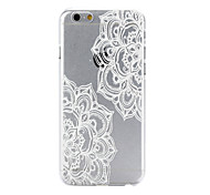 Flowering Pattern PC Material Phone Case for iPhone 6