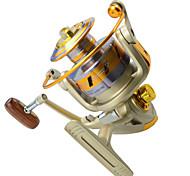 Mulinelli da pesca Mulinelli per spinning 5.5:1 10 Cuscinetti a sfera MancinoPesca di mare / Pesca a mosca / Pesca a mulinello / Pesca a
