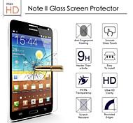 ultra delgado explosión alta transparencia vidrio templado a prueba para Samsung Galaxy Note 2
