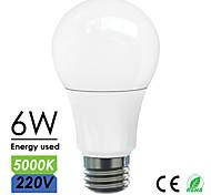 Bymea E27 LED Bulbs Light 6W 500lumen Energy Saving Bedroom Light AC220-240V 5000K Natural White