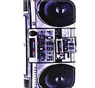 recorder Muster PU-Leder Material Karte Ganzkörper für Samsung-Galaxie J1 / galaxy grand 2 g7106