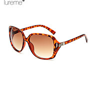 Sunglasses Women's Fashion Oversized Leopard Sunglasses Full-Rim