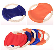 Chewable Flying Discs  Pet Toys for Dogs Cats (Random Color)