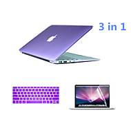 2016 Top Selling PVC MacBook Case with Keyboard Cover and Screen Flim for  MacBook Pro 13.3 inch