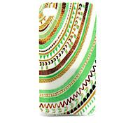 motivo decorativo banda cassa del telefono materiale TPU per il iPhone 4 / 4s