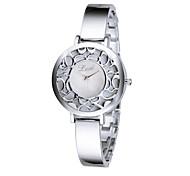 Women Elegant Rhinestone Hollowed Watches Quartz Analog Bracelet Wrist Watches 2015 Hot Fashion Dress Watch High Quality