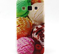 Ice Cream Pattern TPU Material Soft Phone Case for Samsung Galaxy A3 A5