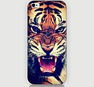 Дело тигр рисунок телефон обратно охватывают дело для iphone5c