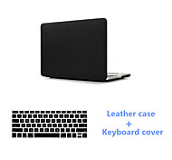 Top Selling Slim Leather Full Body Protective Case Cover and Keyboard Cover for Macbook Air 11.6 (Assorted Colors)