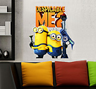 Cartoon Despicable Me Minions PVC Wall Sticker Wall Decals