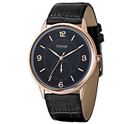 Men's Watch Japan Original Movement Ultra-thin Dial Design Genuine Leather Strap Luxury Brand Watches