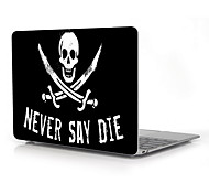 "Never Say Die Design Full-Body Protective Plastic Case for 12"" Inch The New Macbook with Retina Display"