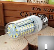 e27 5W 700lm 6500k 56-SMD 5730 a mené la lampe de maïs de la lumière blanche froide (220v ~ 240v)