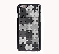 Puzzle Design Aluminum High Quality Case for iPhone 6 Plus
