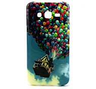 Balloon House Patterned edging TPU cell phone soft shell For Galaxy J1 /J5 /J7 / G360/ G530
