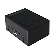MAIWO USB3.0 2.5/3.5inch 2Bay SATA HDD Docking Station with Clone function HDD Hard Drive Duplicator K3082
