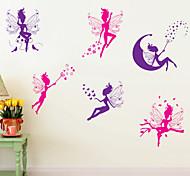 наклейки для стен стены наклейки наклейки в стиле мультфильма дух ПВХ стены