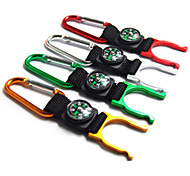 Climbing Carabiner Water Bottle Hooker Decoration Compass (Assorted-color)
