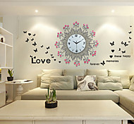 Fashionable Creative Modern Style Metal Luxurious Sitting Room Wall Clock