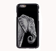 Elephant Design Aluminum High Quality Case for iPhone 6 Plus
