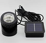 6-led de alto brilho diving luz solar