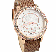 Women's Fashion Style Skeleton Quartz Analog Wrist Watch