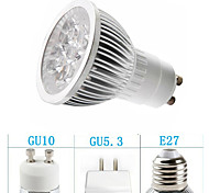 Focos MORSEN PAR GU10/GU5.3/E26/E27 5 W 5 LED de Alta Potencia 350-400 LM Blanco Cálido/Blanco Fresco AC 85-265 V 1 pieza