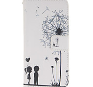 Dandelion Love Design PU Leather Full Body Protective Case with Stand Wiko Wax