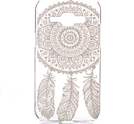 Hollow Flower Pattern PC Hard Case for Samsung Galaxy J1