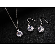 Fashion  Crystal Jewelry Set (1set)