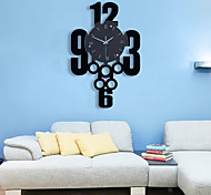 Modern Design Numbers  Wall Clock
