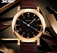 SKMEI® Men's Dress Watch Classic Design Japanese Quartz Leather Strap